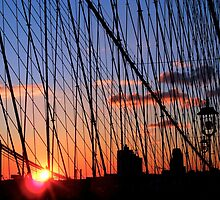 Brooklyn Bridge View by PierPhotography
