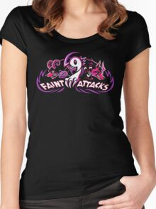 Dark Types - Faint Attacks Women's Fitted Scoop T-Shirt