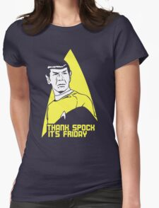 Thank Spock it's Friday Womens Fitted T-Shirt