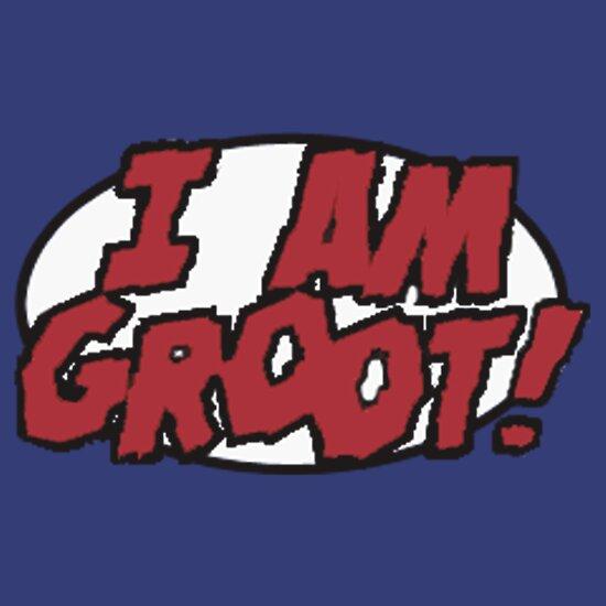 I Am Groot I AM GROOT  T-Shirt