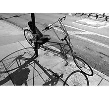 Custom Bike, Manhattan Photographic Print