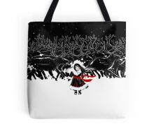 Night of Reindeers Tote Bag
