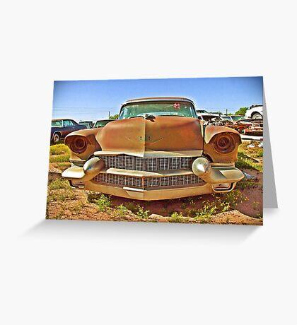 Cadillac Grill, Casa Grande, Arizona Greeting Card