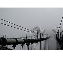 Misty Bridge Photographic Print