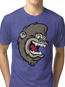Monkeying Around. Tri-blend T-Shirt