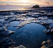 Bamburgh Dawn by R-S-Peck