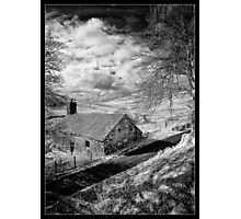 Mountain Farmstead Photographic Print