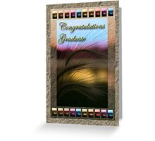 Congratulations Graduate Grass Sunset Greeting Card