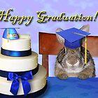 Graduation Bunny Rabbit by jkartlife