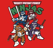 Mighty Mutant Power Ninjas! by nikholmes