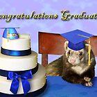 Congratulations Graduate Ferret by jkartlife