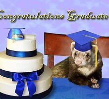 Congratulations Graduate Ferret by jkartlife