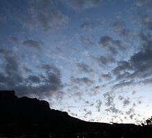 Cape Town's Table Mountain by Chris Fick