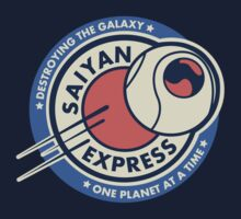 Saiyan Express by Creative Outpouring