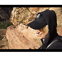 Cap & Smile Photographic Print