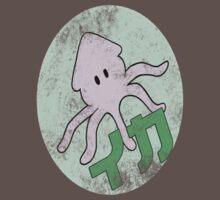 Vintage Anime Squid Tee by M0314