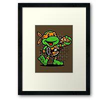 Vintage Michelangelo Framed Print