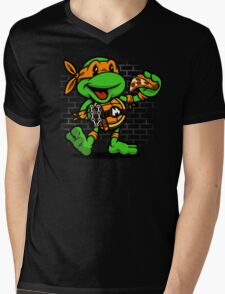 Vintage Michelangelo Mens V-Neck T-Shirt