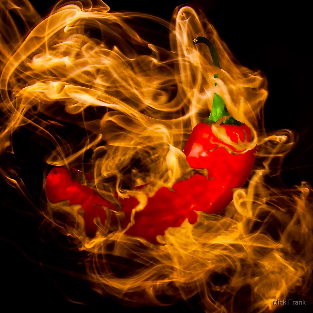 Red Hot Chilli Pepper by Mick Frank