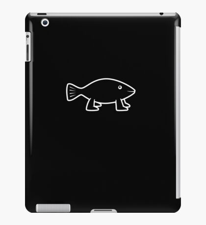 Pioneer Fish [outline] iPad Case/Skin