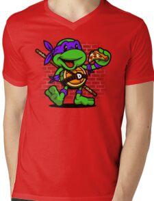 Vintage Donatello Mens V-Neck T-Shirt