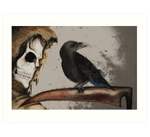 It's a Grim World Art Print