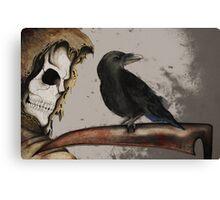 It's a Grim World Canvas Print