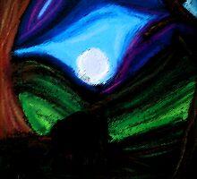 Moonlit Elephants by paulgodley