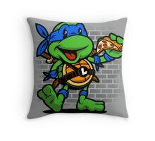 Vintage Leonardo Throw Pillow