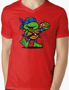 Vintage Leonardo Mens V-Neck T-Shirt
