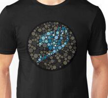 Fairy Tail Logo Ishihara Plate Blue Unisex T-Shirt