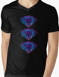diamonds II Mens V-Neck T-Shirt