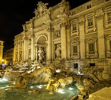 Fontana di Trevi 1.0 by Yhun Suarez