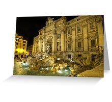 Fontana di Trevi 1.0 Greeting Card