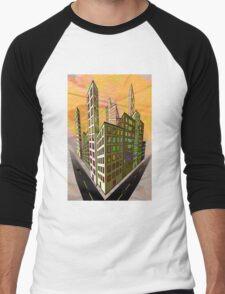 Marmalade Skies Men's Baseball ¾ T-Shirt