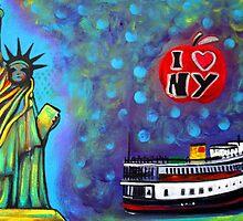 I Love NY by Laura Barbosa