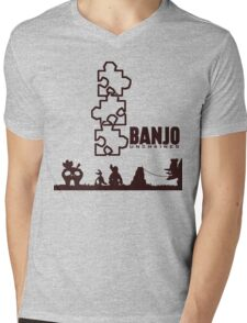 Banjo Unchained (Prints/Posters, and Shirt) Mens V-Neck T-Shirt