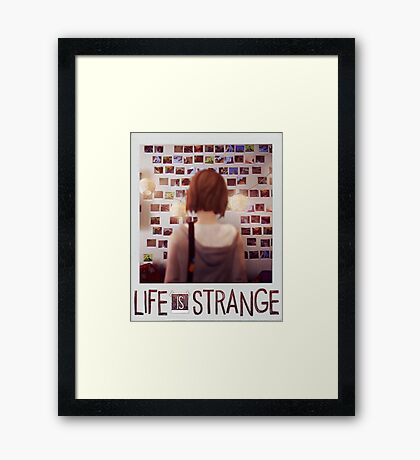 Life is strange Max Framed Print