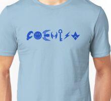 COEXIST - blue Unisex T-Shirt