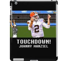 Tecmo Bowl Touchdown Johnny Manziel iPad Case/Skin