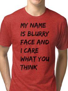 BLURRED 2 Tri-blend T-Shirt