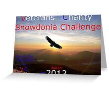 Snowdonia Challenge Greeting Card