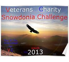 Snowdonia Challenge Poster