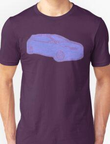 Focus ST Mk3 Drawing - Blue Unisex T-Shirt