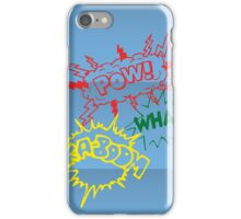 Pow! Wham! Ka-boom! iPhone Case/Skin