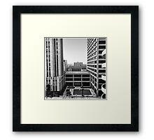 First National Plaza - Dayton, O. 1977 Framed Print