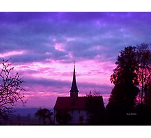 Dawn Chapel Photographic Print