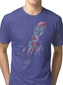 Cosmic Octopus! Tri-blend T-Shirt