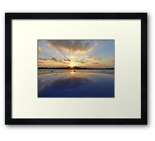 Portaferry Sunset Framed Print