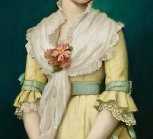 Portrait of a Young Girl, 1881 by Bridgeman Art Library